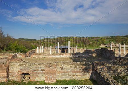 Gamzigrad, Felix Romuliana,ancient Roman palace in Zajecar,Serbia poster