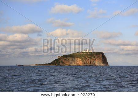 Skriplev Island At East Bosfor Strait, Vladivostok, Russia