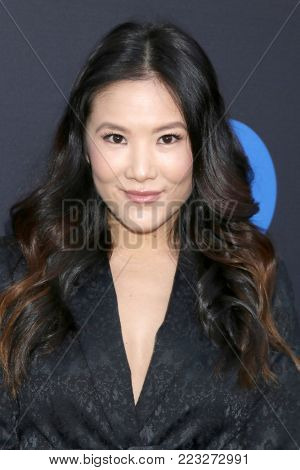 LOS ANGELES - JAN 18:  Ally Maki at the Freeform Summit 2018 at NeueHouse on January 18, 2018 in Los Angeles, CA