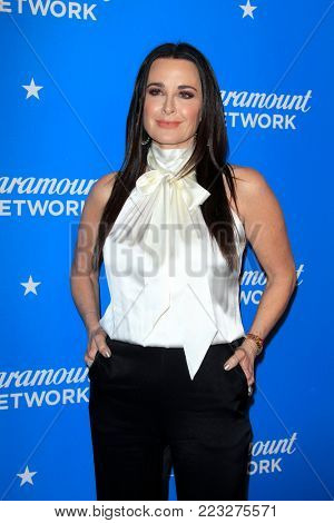 LOS ANGELES - JAN 18:  Kyle Richards at the Paramount Network Launch Party at the Sunset Tower on January 18, 2018 in West Hollywood, CA