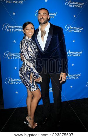 LOS ANGELES - JAN 18:  Liane V, Don Benjamin at the Paramount Network Launch Party at the Sunset Tower on January 18, 2018 in West Hollywood, CA