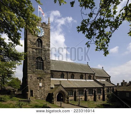 Saint Michael And All Angels Church Howarth Yorkshire England