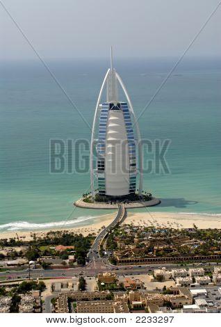 Burj Al Arab On Jumeirah Beach Road