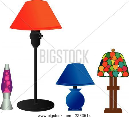 Series Of Desk Lamps