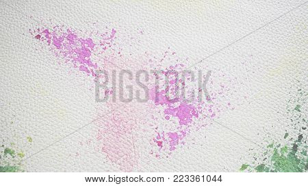 White and Colorful leatherette texture for background and empty space for text.