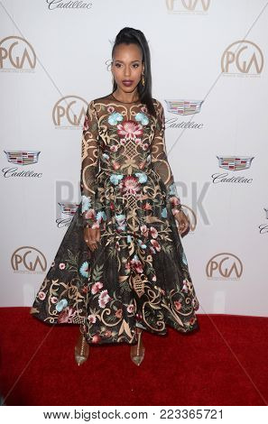 LOS ANGELES - JAN 20:  Kerry Washington at the Producers Guild Awards 2018 at the Beverly Hilton Hotel on January 20, 2018 in Beverly Hills, CA