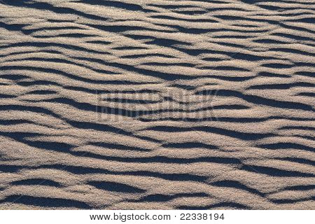 Background of Natural Sand Patterns