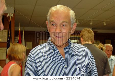 U.S. Congressman Ron Paul