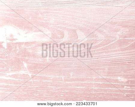Pastel wood background painted soft pink