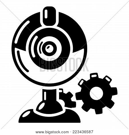 Fan repairicon. Simple illustration of fan repair vector icon for web.
