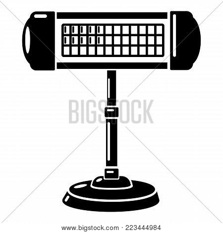 Ufo heater icon. Simple illustration of ufo heater vector icon for web.