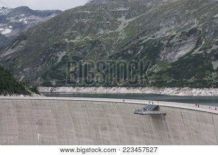 The Kölnbrein Dam is an arch dam in the Hohe Tauern range within Carinthia, Austria.