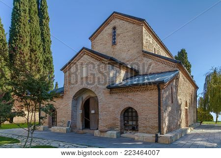 Monastery of St. Nino at Bodbe is a Georgian Orthodox monastic complex located 2 km from the town of Sighnaghi, Kakheti, Georgia.