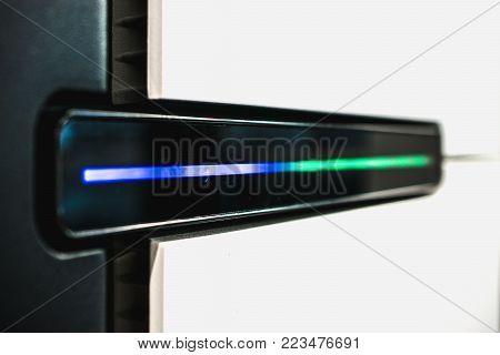 Technology or laboratory abstract background for Next Generation Sequencing.