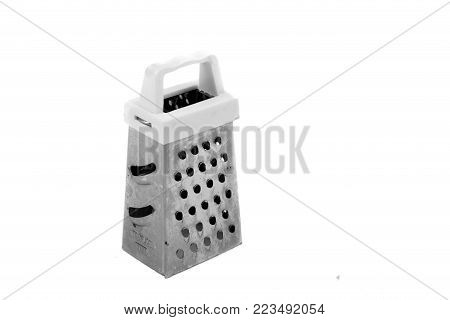 Kitchen Grater Isolated On White Background