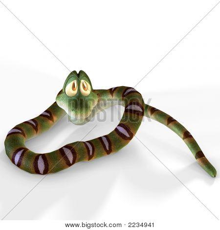 Toon Snake 10 B Kopie
