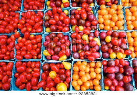 Tomatoes At Farm Market