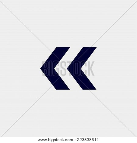 arrow icon, Vector illustration. right arrow icon