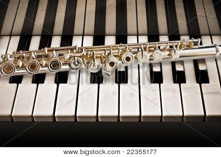The Flute On a Piano