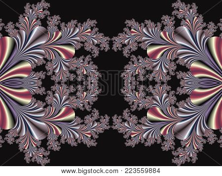 Fabulous symmetrical background. Magical Satin. You can use it for invitations, notebook covers, phone cases, postcards, cards and so on.