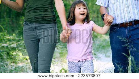 Picture of mother and her child with special needs