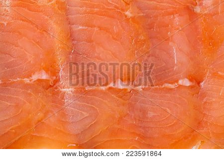 Slices Of Fatty Smoked Fish