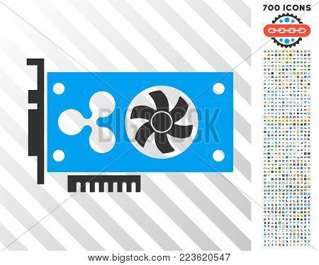 Ripple Video Gpu Card Vector & Photo (Free Trial) | Bigstock