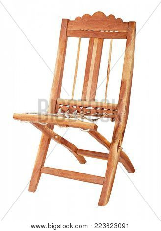 Handmade south African traditional chair sculpted
