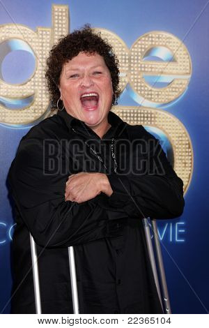 LOS ANGELES - AUG 6:  Dot Marie Jones arrives at the
