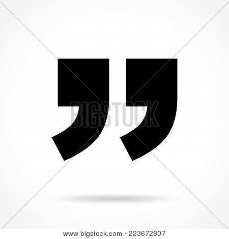 Illustration of comment icon on white background