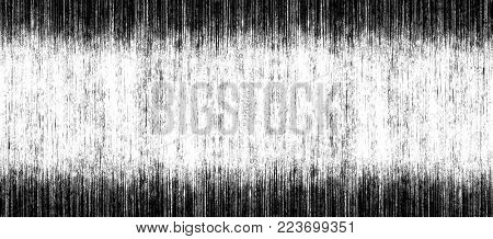 Grange black background of vertical stripes and scratches