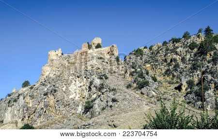 Santa Croche Castle is a medieval castle built on the site of Santa Croche, on the outskirts of the town of Albarracin, province of Teruel (Autonomous Community of Aragon, Spain).