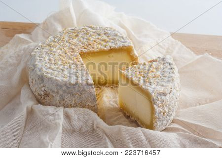 Delicious artisanal goats cheese from the farm.