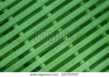 Green Abstract mesh background White color Modern plastic Dashed lines