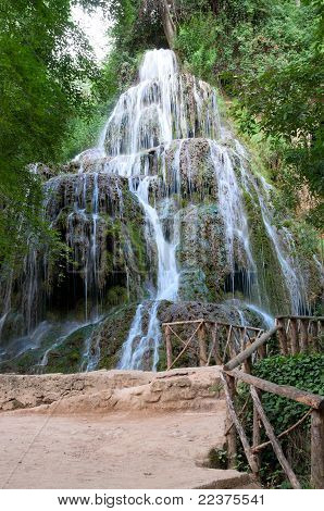 Waterfall at the