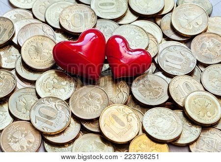Love And Money On Old Scales