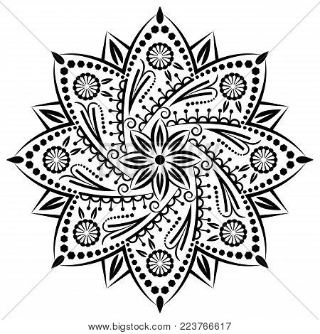 Mandala Medallion Ornament
