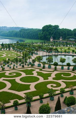 Palace Versailles In France