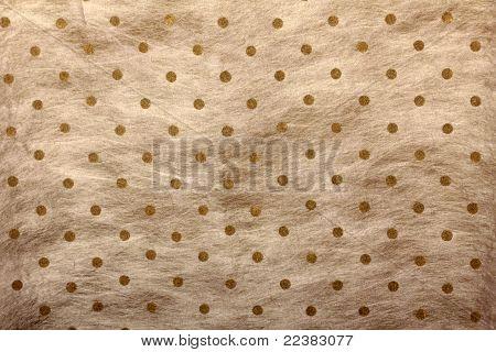 white shaded polka dotted handmade art paper