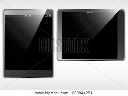 8 inch screen tablet phone with blank screen and three dimension effect