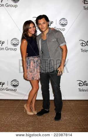 LOS ANGELES - AUG 7:  Alexandra Chando, Blair Redford at the Disney/ABC Television Group Summer Press Tour at the Beverly Hilton Hotel on August 7, 2011 in Beverly Hills, CA