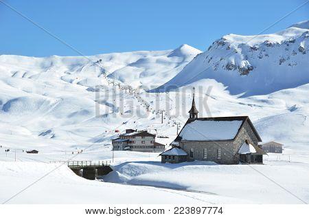 Melchsee-Frutt, Swiss skiing resort