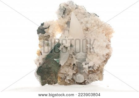 calcite crystal mineral sample, rare earth minerals
