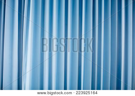 Blue curtain background, Brightly lit curtains for your background