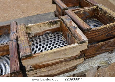 Sieve for searching gold Mining and sifting