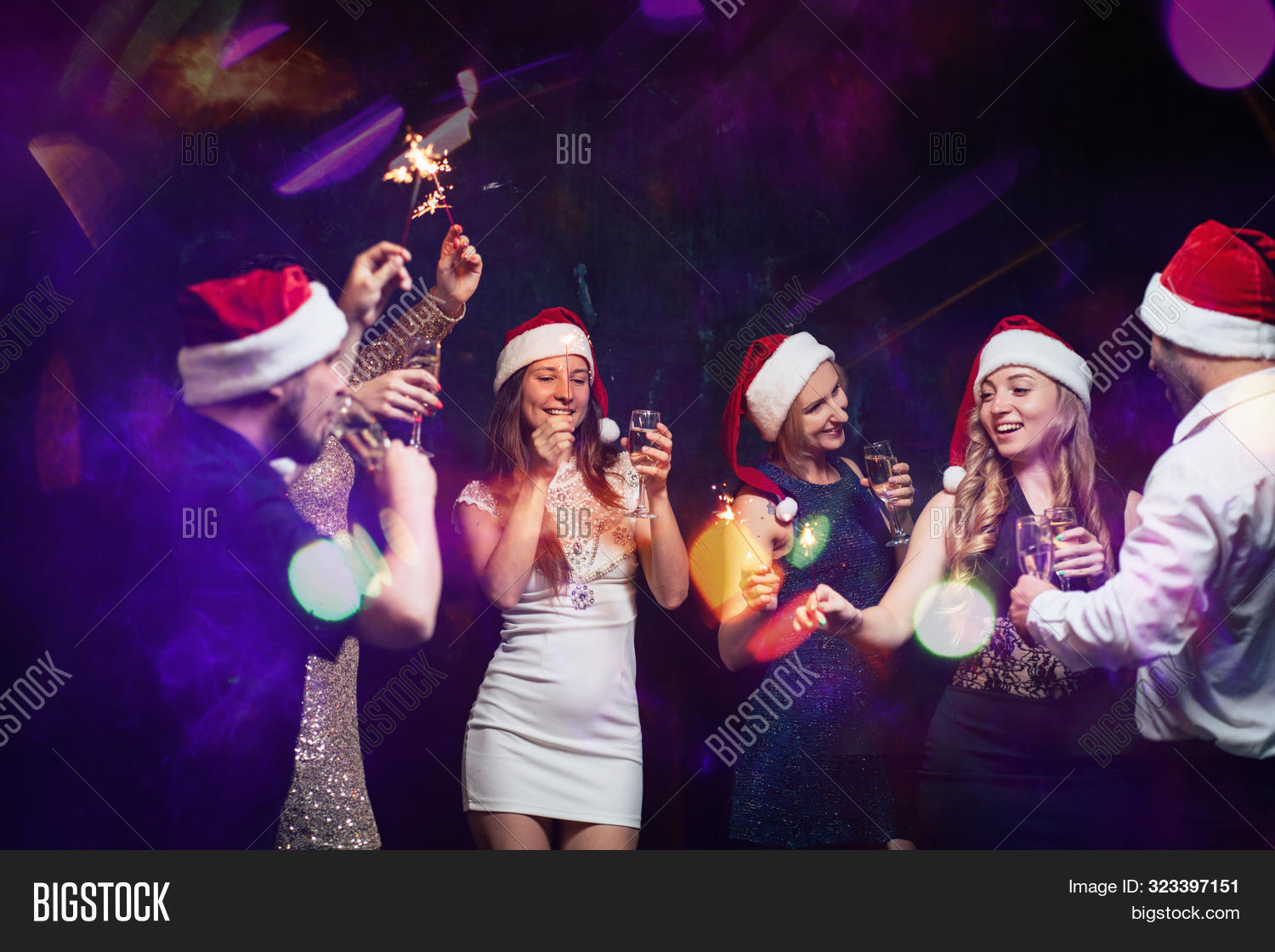 Christmas Dance Party Image Photo Free Trial Bigstock