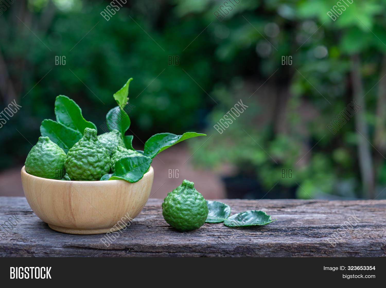 Fresh Organic Bergamot Image Photo Free Trial Bigstock
