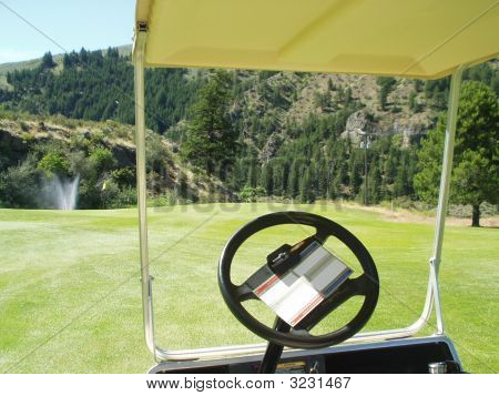 View From The Golf Cart
