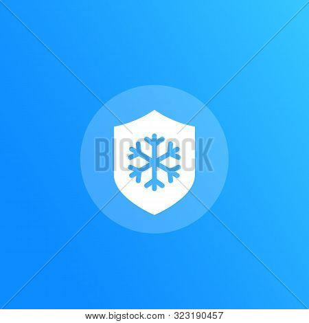 Frost Resistant Vector Icon, Eps 10 File, Easy To Edit