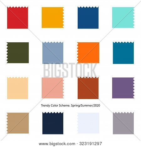 Trendy Color Design Scheme For Spring And Summer Season Of 2020